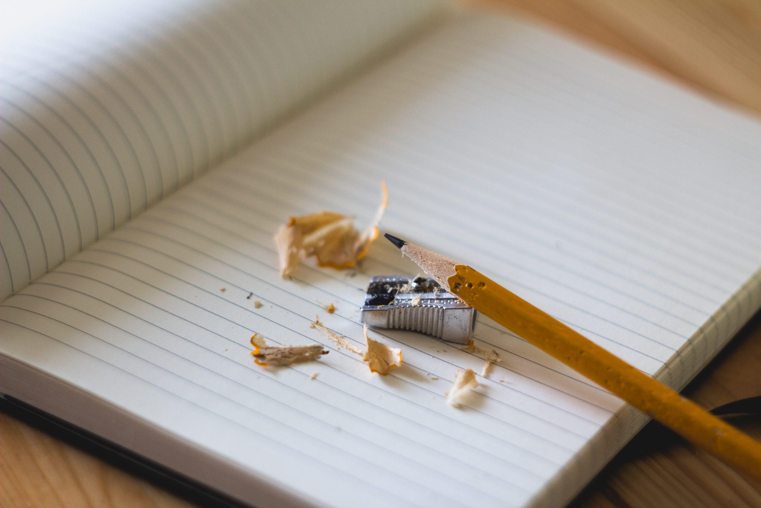 Bleistift auf Papier